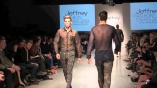 JEFFREY FASHION CARES RUNWAY SHOW- 40 HOT MALE MODELS TAKE THE RUNWAY