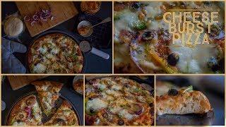 How to make Cheese Burst Pizza Recipe | Domino
