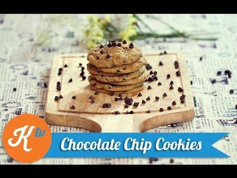 Resep Chocolate Chip Cookies (Chocolate Chip Cookies Recipe Video)   COOKING DJ