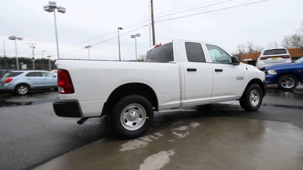 2015 Dodge Ram 1500 Tradesman Quad Cab White Fs515380