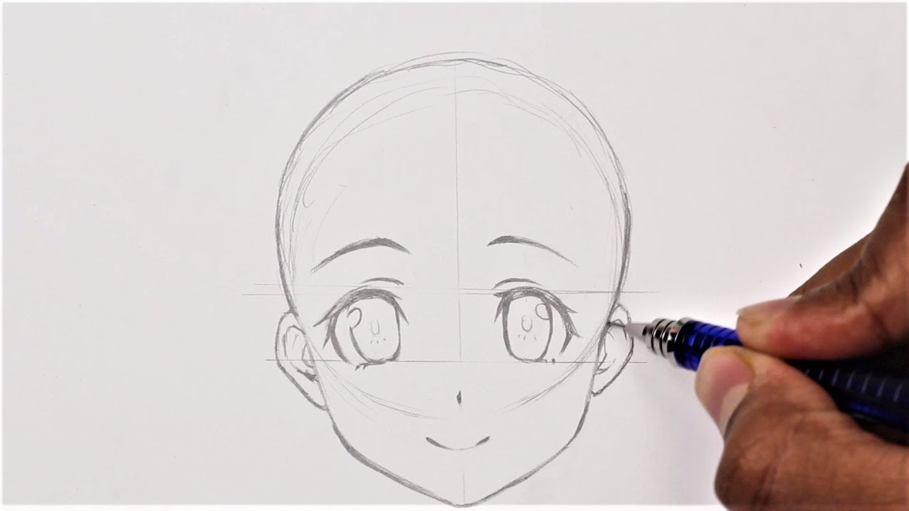 How To Draw Anime Basic Anatomy Anime Drawing Tutorial For