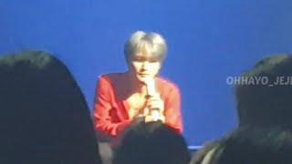 200118 김재중 콘서트 지켜줄게 연습 토크 #ジェジュン #kimjaejoong