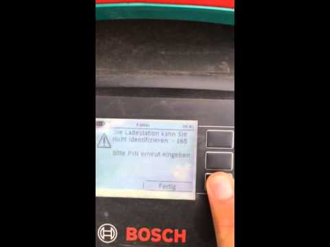 Bosch Indego Problem Youtube