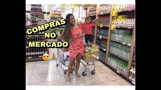 FAZENDO MINHAS PRIMEIRAS COMPRAS NO SUPER MERCADO