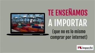 Seminario Importar de China Huancayo