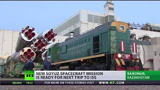 Ready To Launch: New Soyuz spacecraft mission ready for trip to ISS
