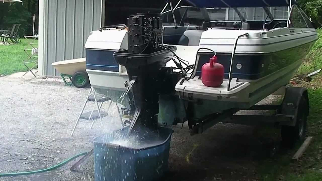 Decarbonizing With Seafoam 1987 Force 125 Outboard Youtube