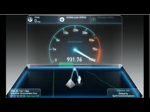 1000Mbps Mac mini Elite Hosting Plan Speed Test