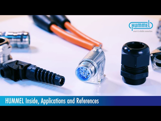 HUMMEL AG // Electric Components // Applications & References Product Video
