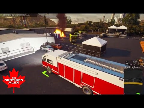 Firefighting Simulator - The Squad |The Sound of Fire |