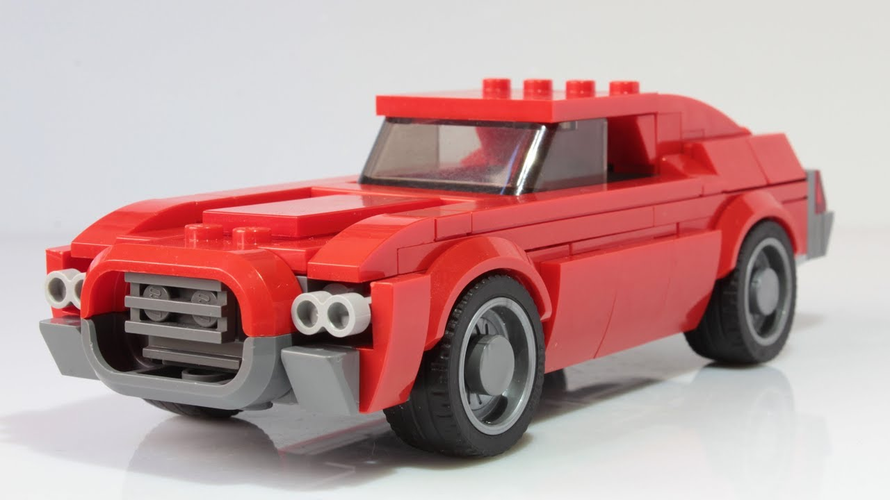 Lego Speed Champions Ford Gran Torino MOC - YouTube