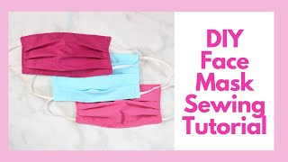 How to Sew a Surgical Face Mask for Hospitals