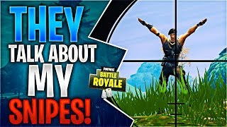 THEY TALK ABOUT MY SNIPES! Feat. Ninja, Dr Lupo & Timthetatman