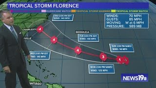 Tropical Storm Florence Expected to Be a Hurricane Again Soon