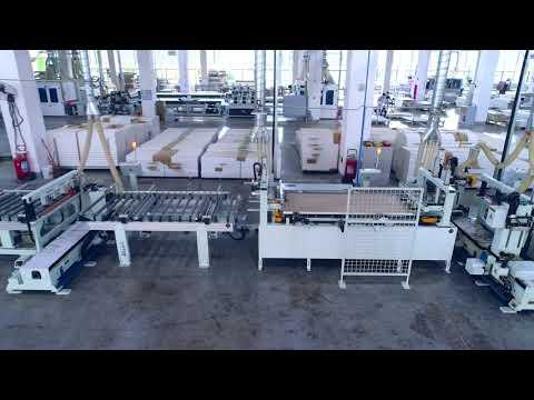 Автоматическая линия для производства дверей компании YUTON