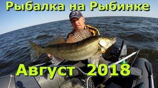 Рыбалка на Рыбинском Водохранилище .