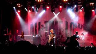 All time low - Jasey Rae - LIVE Stockholm 2010 HQ