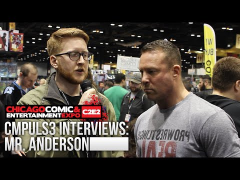 Ken Anderson Interview: Leaving TNA, Eric Young & Bobby Roode, & More! (C2E2 2016)