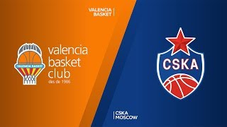 Valencia Basket - CSKA Moscow Highlights | Turkish Airlines EuroLeague, RS Round 1