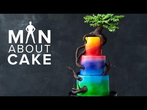 BONSAI TREE Cake MACChallenge Winner  Man About Cake with Joshua John Russell