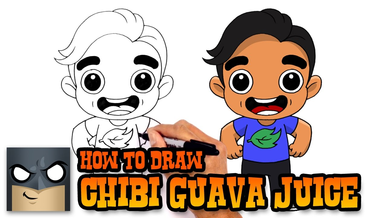 How to Draw Guava Juice Drawing Lesson YouTube