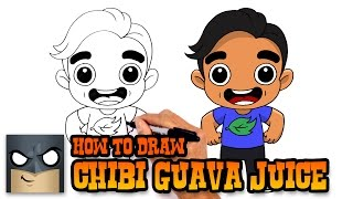 How to Draw Guava Juice | Drawing Lesson