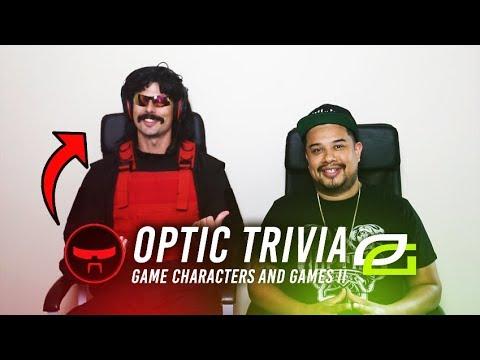 OpTic Trivia ft. DrDisRespect - Video Games & Characters II!
