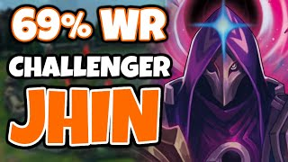 My Jhin winrate is 69% in Challenger, this is how I play him | Challenger Jhin - League of Legends