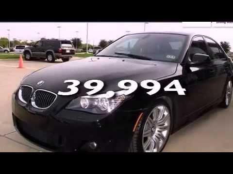Preowned 2010 BMW 550 Plano TX