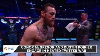 Conor McGregor, Dustin Poirier Have Twitter Brawl Over Donation Money