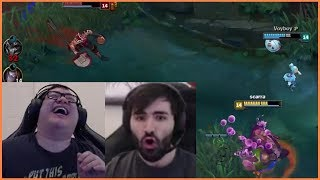 Scarra Couldn't Help Voyboy Because Of Lag | Tobias Fate's Opinion On Lux - Best of LoL Streams #114
