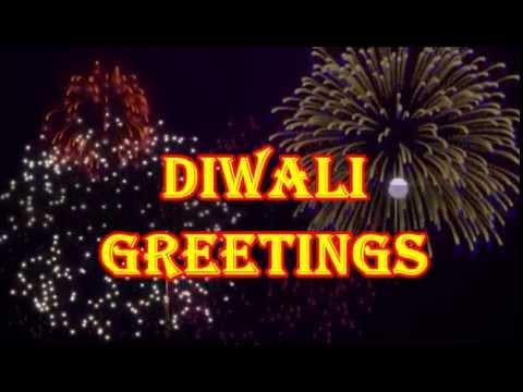 Best Happy Diwali 2016 Wishes & Greetings| Beautiful Diwali Whatsapp Video With Fireworks