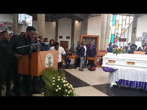 Download Slapdee Speaks At Daev's Funeral Service