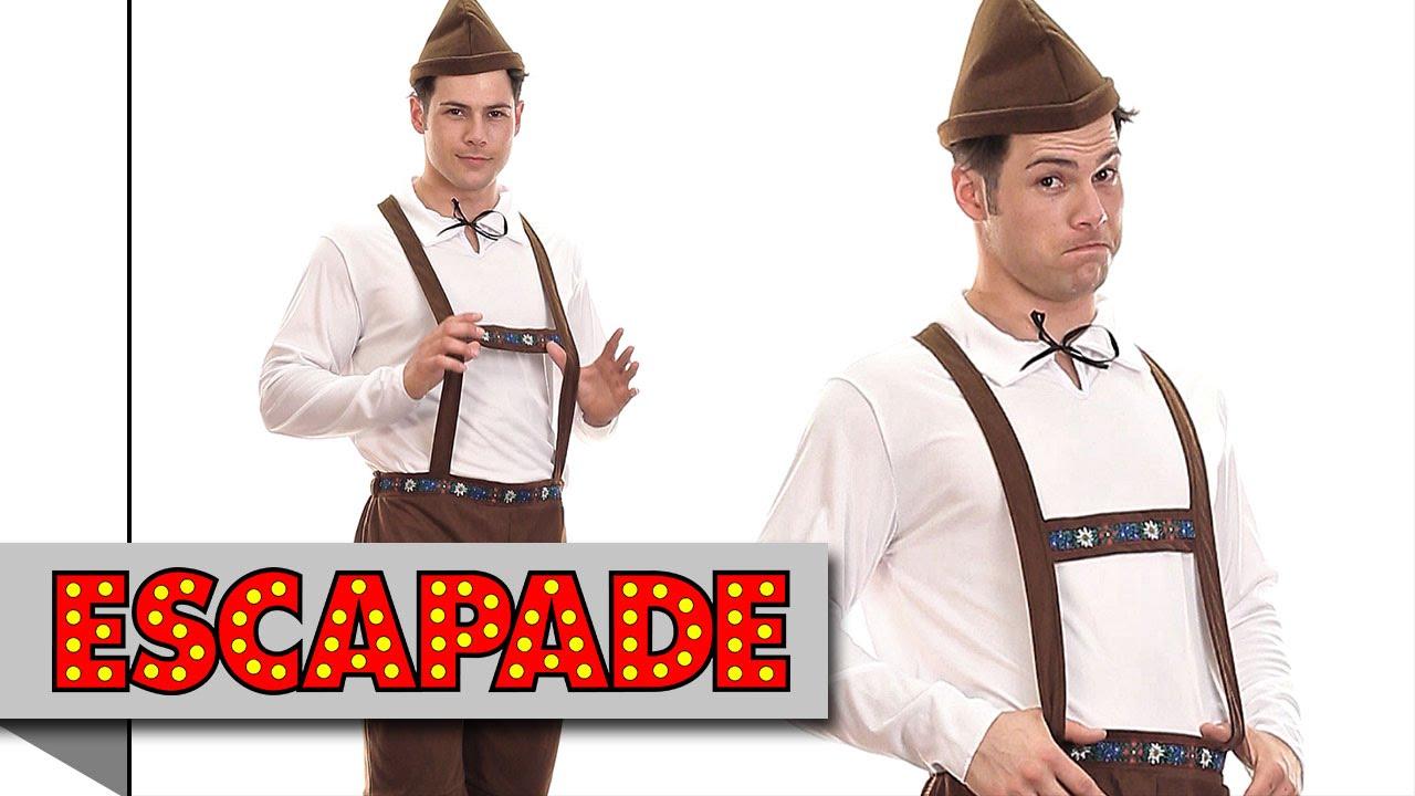Bavarian Man Oktoberfest Costume - Fancy Dress Costume Ideas - YouTube
