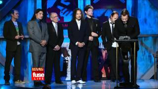 Rock and Roll Hall of Fame Ceremony 2009 - Metallica