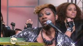 "Daytime TV - Real Housewife star Kandi performs ""Leave You"""