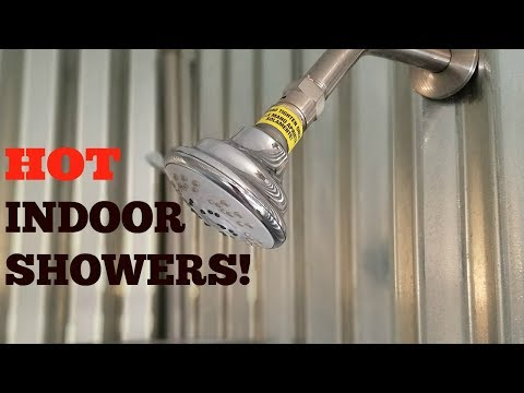 How To Have An Indoor OFF GRID Shower