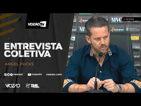 COLETIVA Entrevista Coletiva Argel Fucks  24012020  Vozão TV