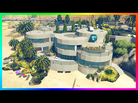 BILLION DOLLAR MANSIONS EXPLORATION, LUXURY VILLAS, MODERN WONDER HOMES & MORE! (GTA 5 MODS)