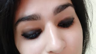 DIY | How To Do Smokey Eyes using a Kajal At Home For Begginers