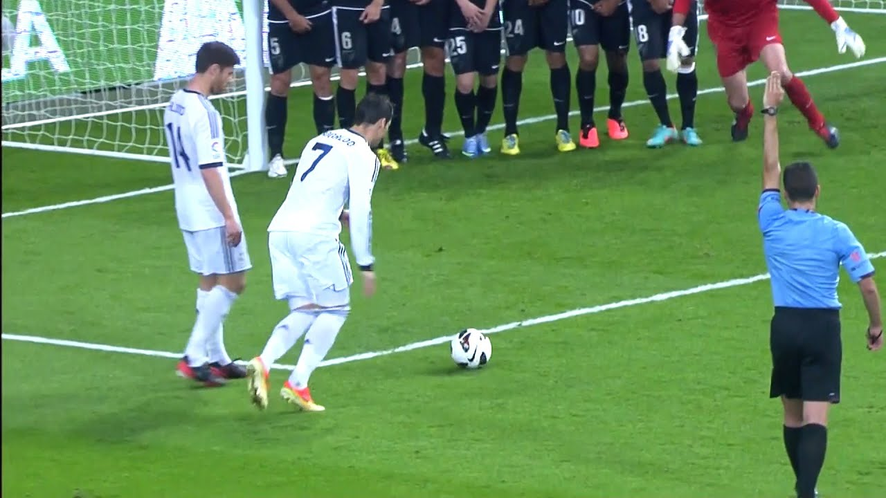 Ronaldo Amazing Goal in Football
