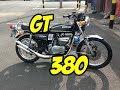 O BELO RONCO 3 CILINDROS E 2 TEMPOS DA SUZUKI GT 380