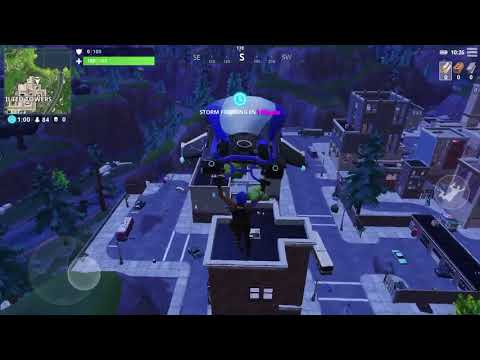 Playing Fortnite Mobile for the first time/ free giveaway 2 Fortnite Mobile invitations