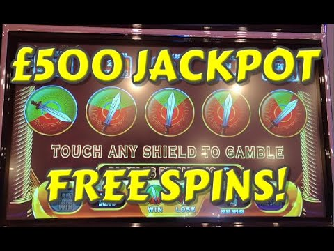 Spartacus Gladiator Of Rome £500 Jackpot Slot! Free Spins Included!  (Fruit Machines)
