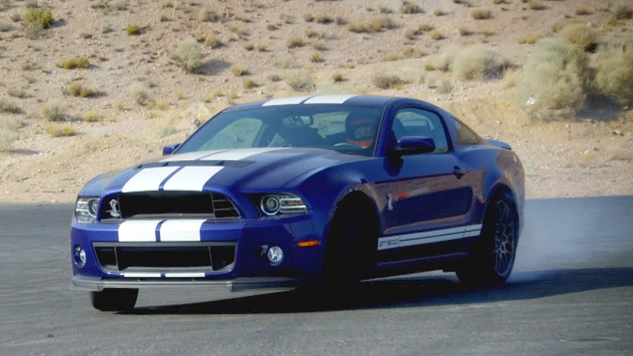 Ford Mustang Shelby Gt500 Blue
