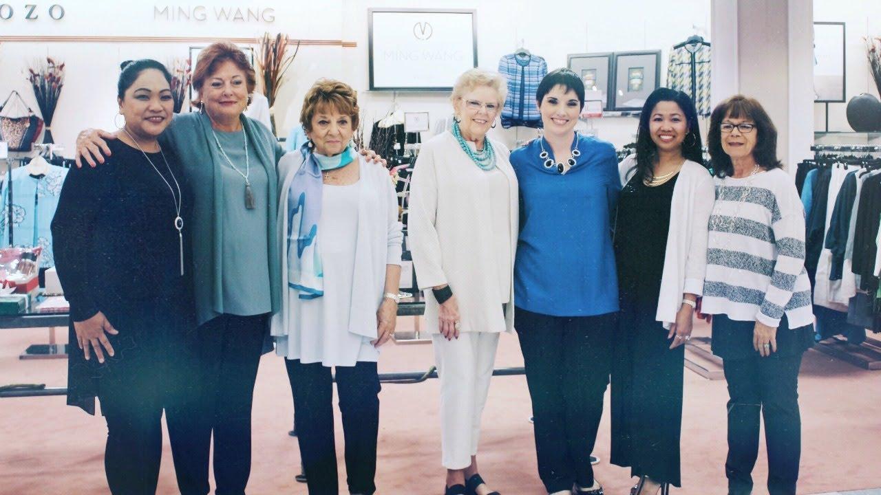 7e619cd9375 Eileen Fisher Spring Fashion Show - YouTube