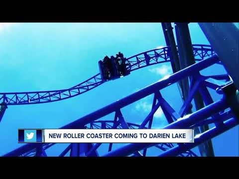 Darien Lake unveils new roller coaster for summer 2018