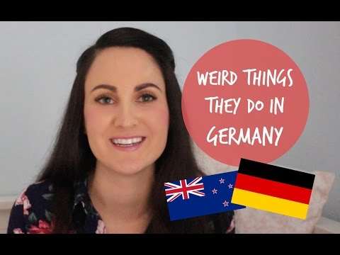 WEIRD THINGS THEY DO IN GERMANY (part 1) 🇩🇪  New Zealand expat