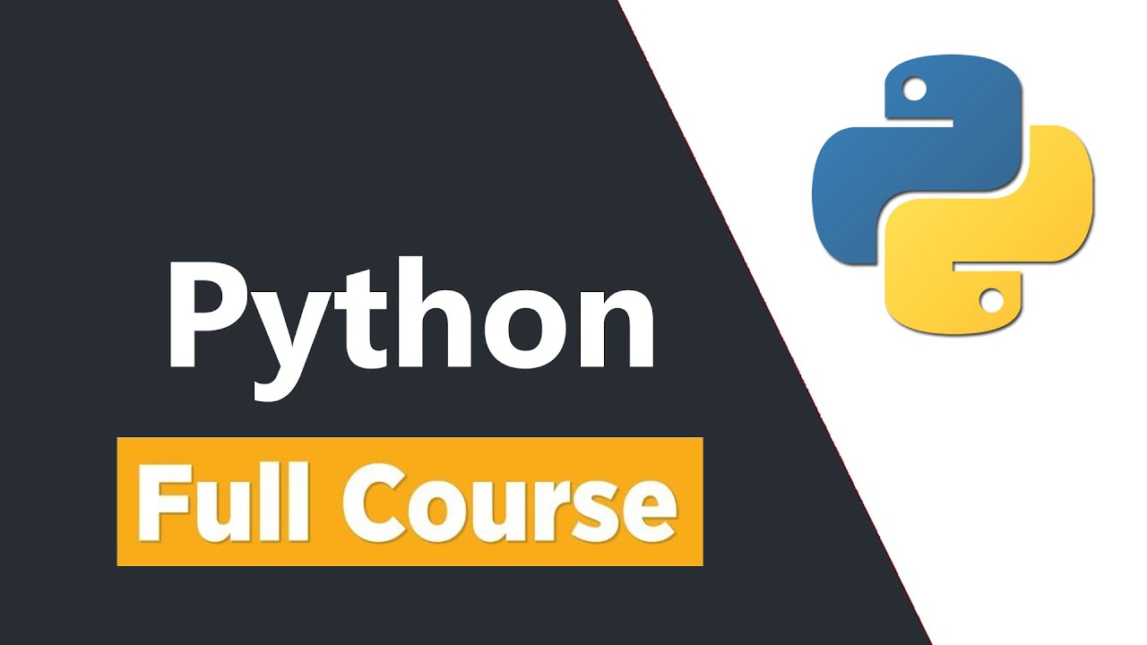 Python Programming Tutorial - Full Course for Beginners