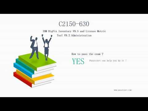 [Release] IBM Certified Administrator C2150-630 Exam Dumps | Passtcert